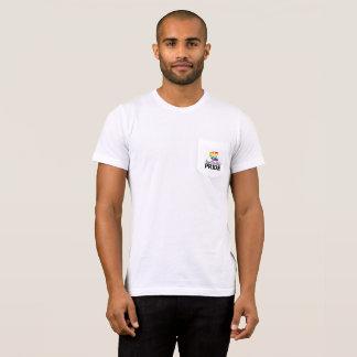 フェーエットビルのプライドのロゴのポケットティー Tシャツ