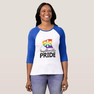 フェーエットビルのプライドのロゴの野球のティー Tシャツ