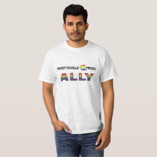 フェーエットビルのプライドの同盟国のティー Tシャツ