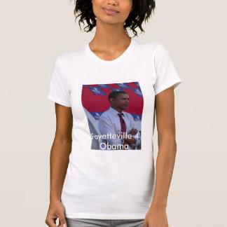フェーエットビル4オバマ Tシャツ