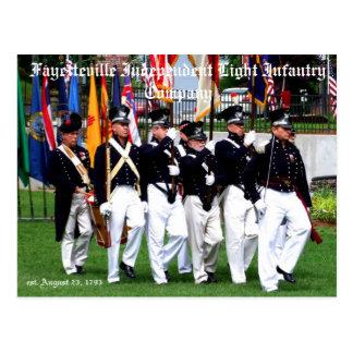 フェーエットビルIndependent Light Infantry Company ポストカード