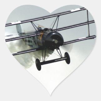 フォッカーの三葉機 ハートシール