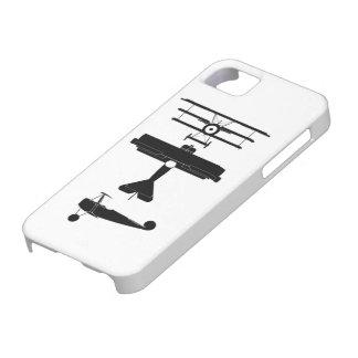 フォッカーの戦闘機ww1 iPhone SE/5/5s ケース