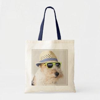 フォックステリア犬 トートバッグ