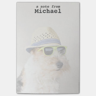 フォックステリア犬 ポストイット