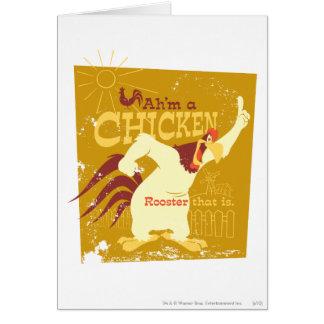 フォッグホーンAh'm鶏 グリーティングカード