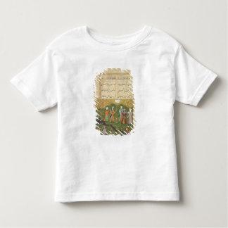 フォリオ39の「Sa'dのBustanからのAの庭場面、 トドラーTシャツ