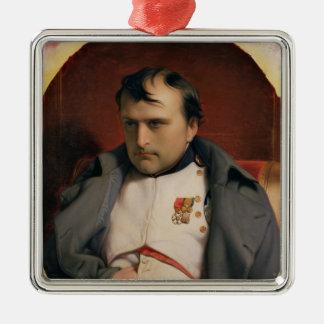 フォンテンブロー1846年のナポレオン メタルオーナメント