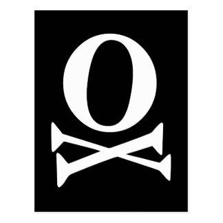 フォントの海賊 ポストカード