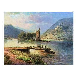 フォンAstudin、Maeuseturm、Ehrenfels ポストカード