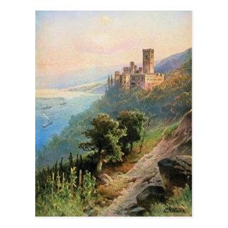 フォンAstudin、Schloss Stolzenfels ポストカード