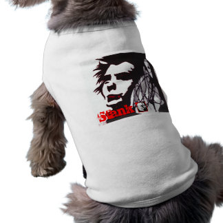 フォンKnoblock著パンクロック犬のワイシャツ ペット服
