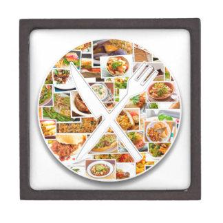 フォークのナイフの食糧 ギフトボックス