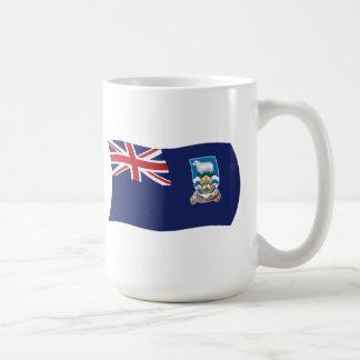 フォークランド諸国の旗のマグ コーヒーマグカップ