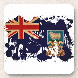 フォークランド諸国の旗 コースター