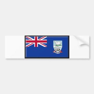 フォークランド諸国の旗 バンパーステッカー