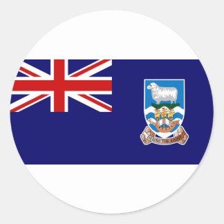 フォークランド諸国の旗(マルヴィナス) FK ラウンドシール