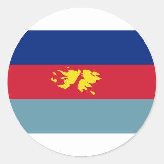 フォークランド諸国(マルヴィナス)の防衛旗FK ラウンドシール