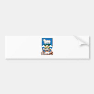 フォークランド諸国(マルヴィナス) FK バンパーステッカー