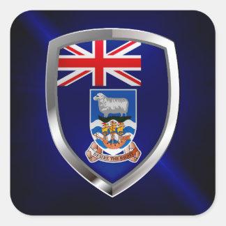 フォークランド諸国Mettalicの紋章 スクエアシール