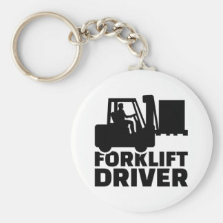 フォークリフトの運転者 キーホルダー