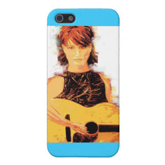 フォーク歌手の女の子 iPhone 5 CASE