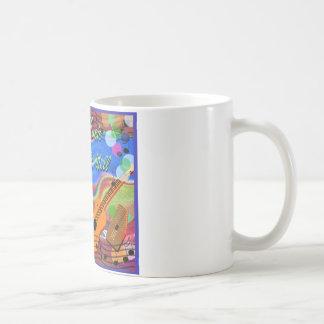 フォーク・ミュージックは生き、健康です コーヒーマグカップ