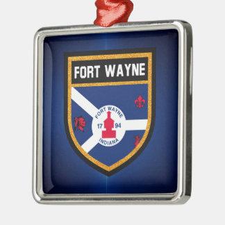 フォートウェインの旗 メタルオーナメント