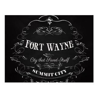 フォートウェイン-都市それ自身を救う ポストカード