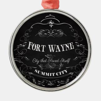 フォートウェイン-都市それ自身を救う メタルオーナメント