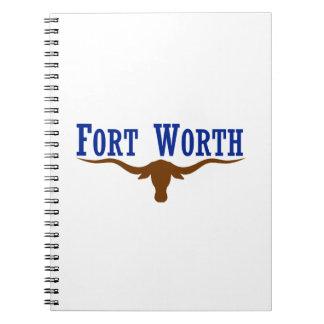 フォート・ワーステキサス州の旗 ノートブック