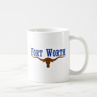 フォート・ワース、テキサス州、米国 コーヒーマグカップ