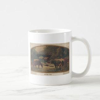 フォードの消印ブライトン、IA 1910年12月7日 コーヒーマグカップ