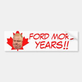 フォードより多くの年!! バンパーステッカー
