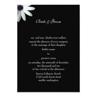 フォーマルな結婚式招待状 12.7 X 17.8 インビテーションカード