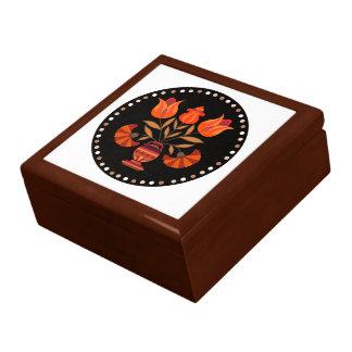フォーマルな花の大きいギフト用の箱 ギフトボックス