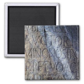 フォーラムのローマのタイポグラフィ、ローマ、イタリア マグネット