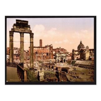 フォーラムBoarioのローマ、イタリアのヴィンテージPhotochrom ポストカード