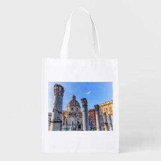 フォーラムRomanum、ローマ、イタリア エコバッグ