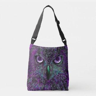 フクロウのバッグ クロスボディバッグ
