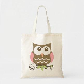 フクロウのバッグ トートバッグ
