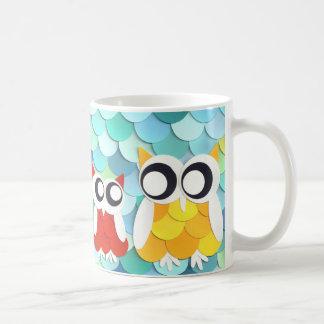 フクロウのマグ コーヒーマグカップ