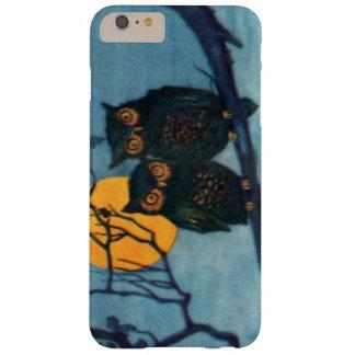 フクロウの木夜満月ハロウィン BARELY THERE iPhone 6 PLUS ケース