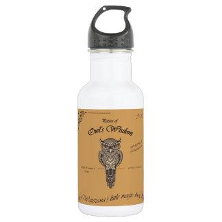 フクロウの知恵の一服 ウォーターボトル