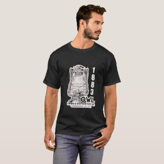 フクロウの管状の1883のパテントのワイシャツ Tシャツ