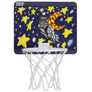 フクロウの芸術2 ミニバスケットボールネット
