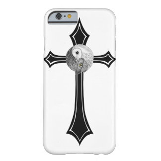 フクロウの陰陽の十字 BARELY THERE iPhone 6 ケース