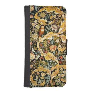 フクロウのiPhone 5/5Sの財布 iPhoneSE/5/5sウォレットケース