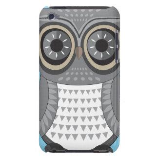 フクロウのipod touchの大きい灰色の箱 Case-Mate iPod touch ケース