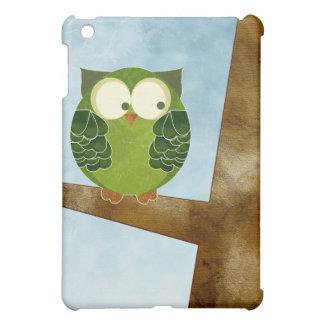 フクロウのSpeckのかわいい緑の箱 iPad Mini カバー